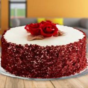 Red Roses Red velvet cake